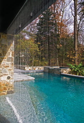 Swimming Pool - Water feature