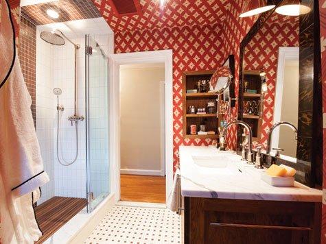 Bathroom - Wallpaper