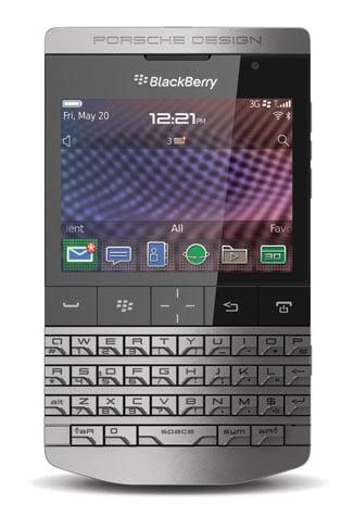 BlackBerry Porsche Design P'9982 - BlackBerry Porsche Design P'9981