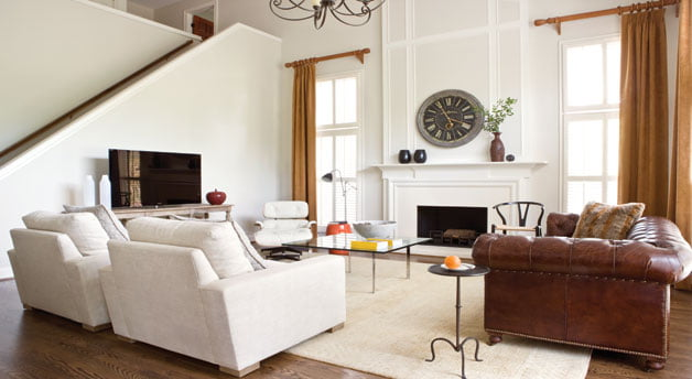 Living room - Eames Lounge Chair