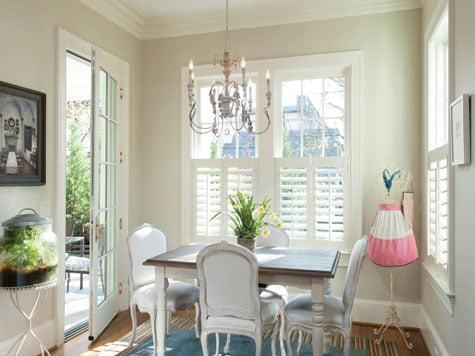 Dining room - Window treatment