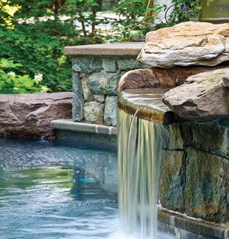 Waterfall - Swimming pool