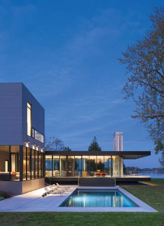 Tred Avon River - House