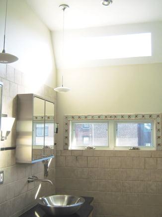 Ceiling - Bathroom