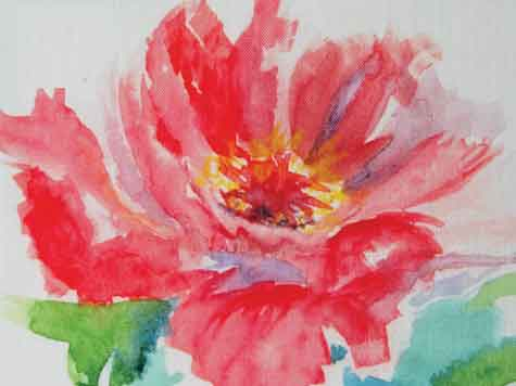 Watercolor painting - Paint