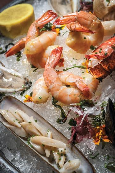 Seafood boil - Scampi