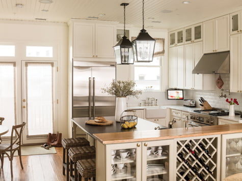 Kitchen - Wine rack