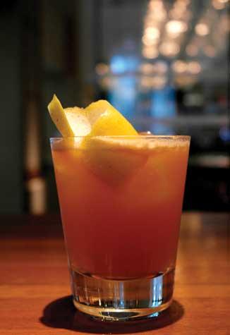 Mai Tai - Cocktail garnish