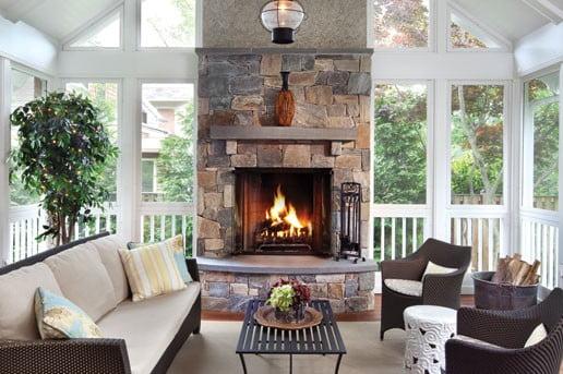 Living room - Porch