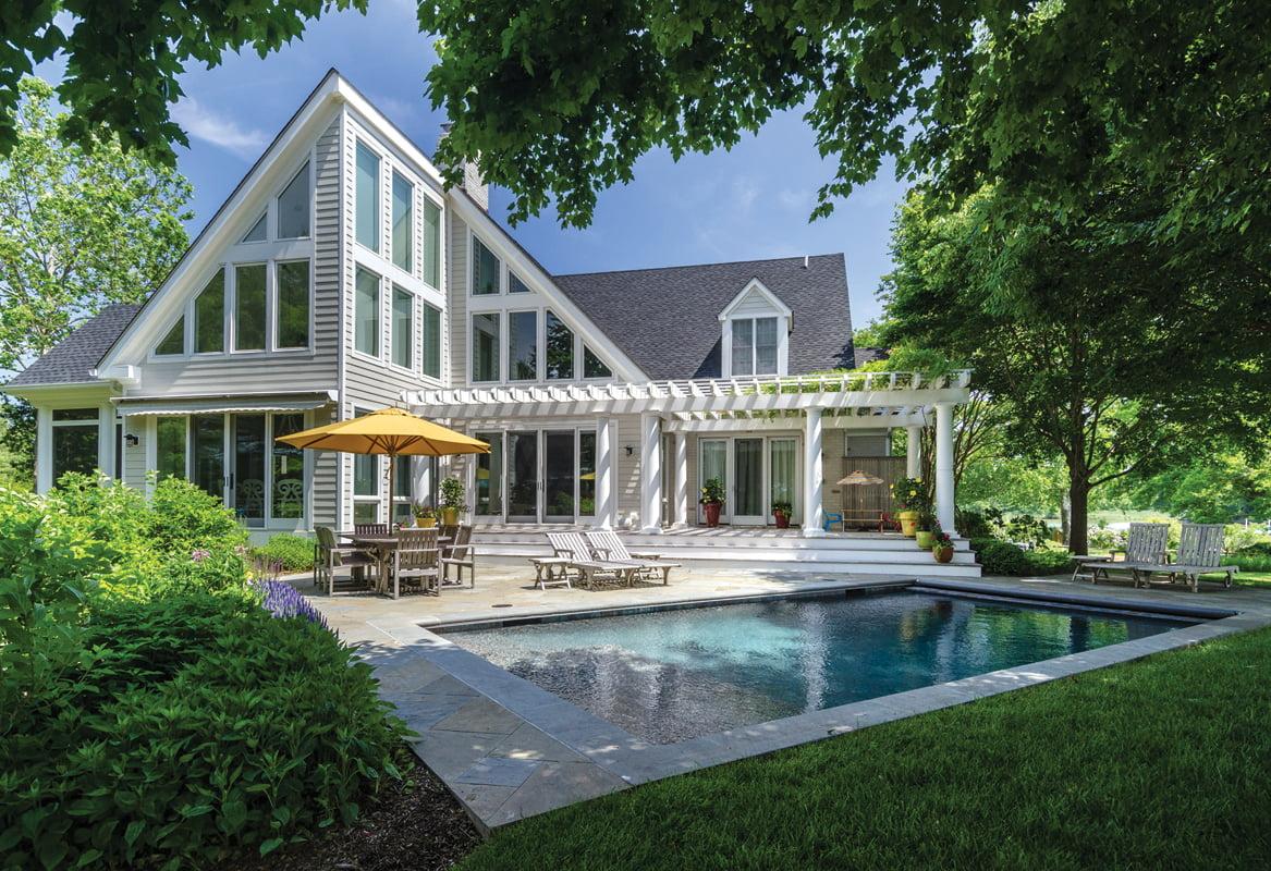 Backyard - Swimming pool