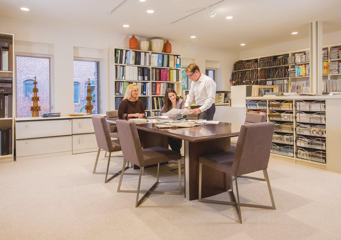 Library - Interior Design Services