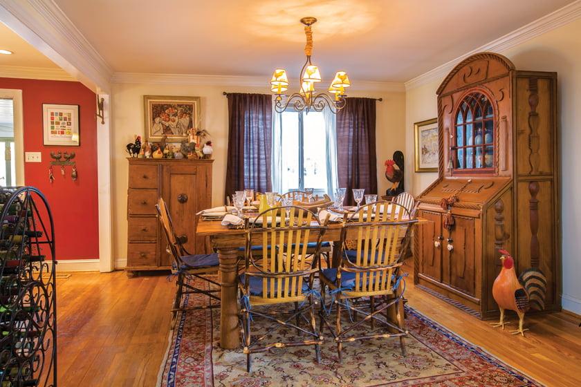 Dining room - Window