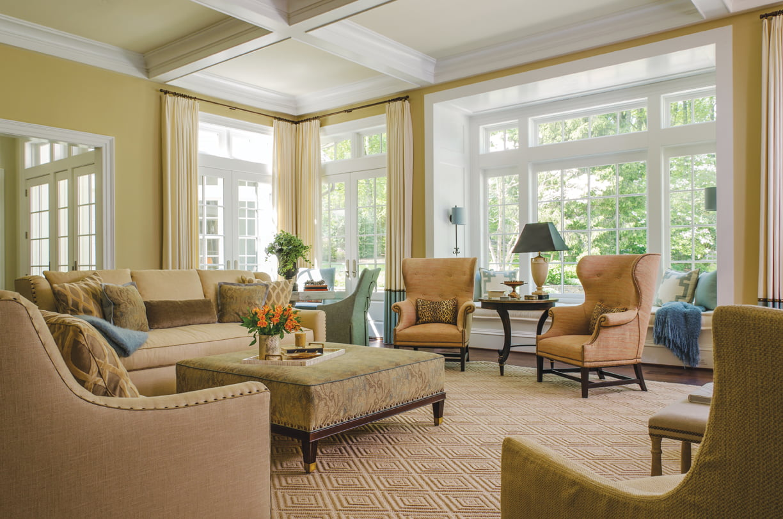 Living room - Window treatment