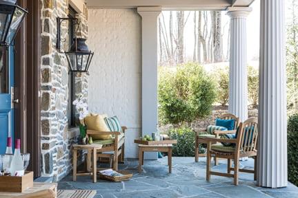 Porch - Living room