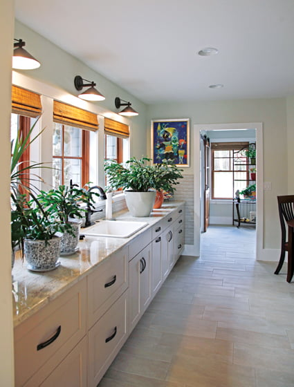 Glass tile - Kitchen