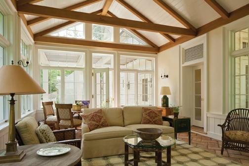 Living room - Sunroom