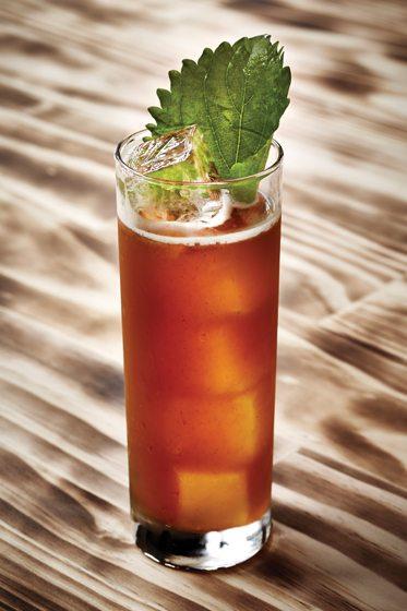 Cocktail garnish - Mai Tai