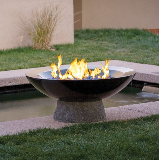 Water feature - Fire pit
