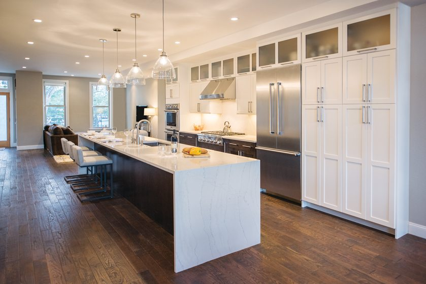 Kitchen - Wood flooring