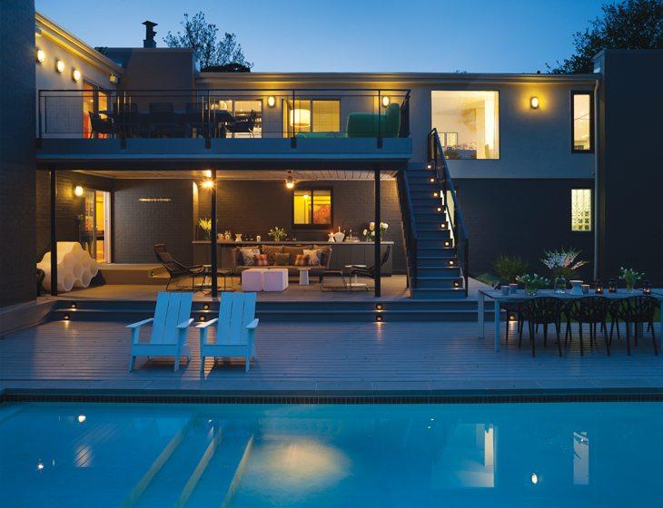 Swimming pool - Landscape lighting