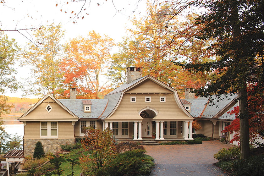 Good Architecture improved the home's curb appeal.