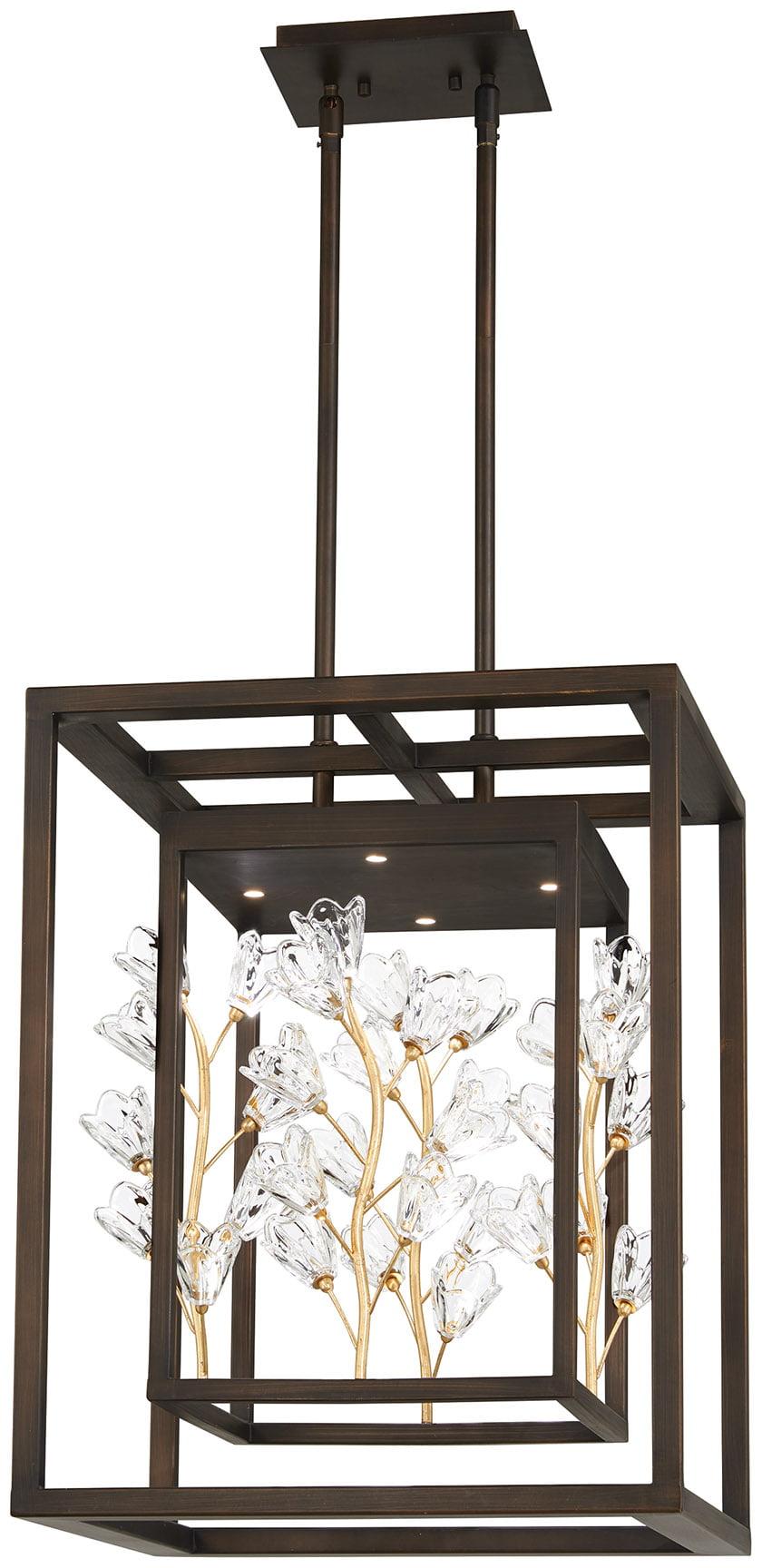 The Maison des Fleurs pendant from the Metropolitan Lighting Fixture Co.