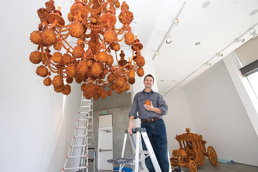 Timothy Horn installs