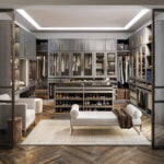 The Paxton Collection storage system from California Closets