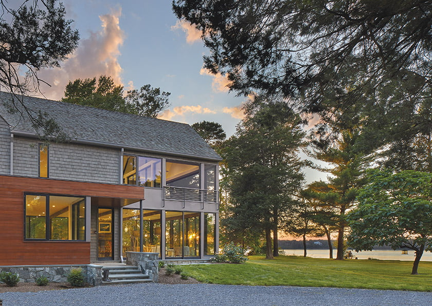 Architect Greg Wiedemann drew inspiration from the historic landscape set within a national park.