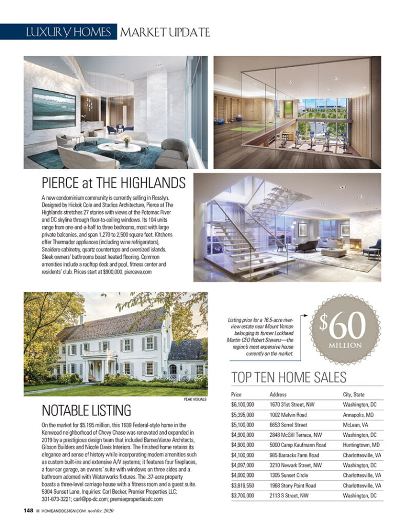 Pierce at The Highlands -A new condominium community is currently selling in Rosslyn.