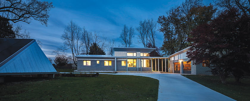 AIA Maryland Residential Honor Award for Old Hopkins Road House