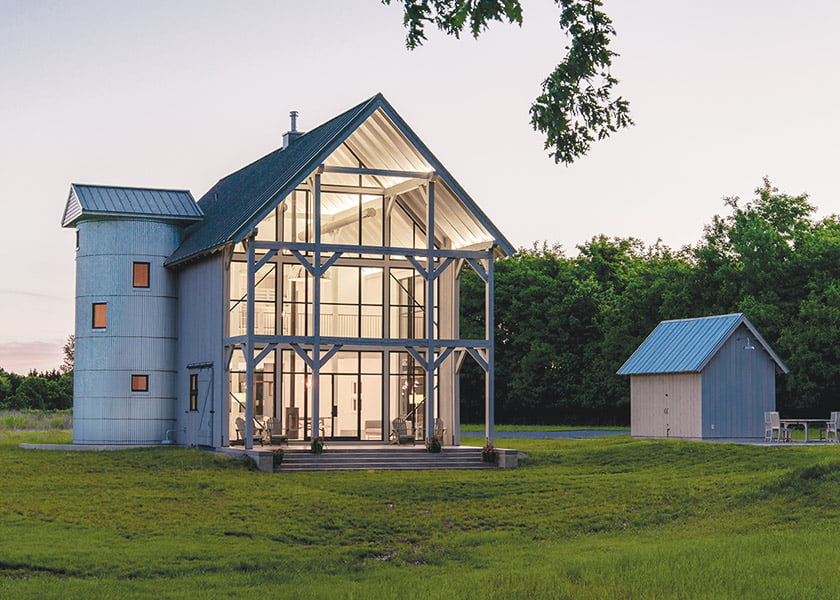 AIA Maryland Residential Jurors' Citation for Wye River Barn House
