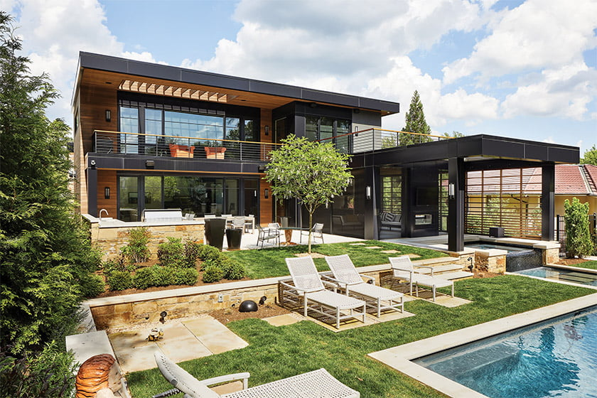 Designed by Mark Kaufman of GTM Architects