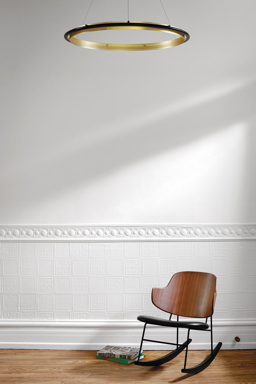 Penguin chair by Ib Kofod-Larsen in entry hall