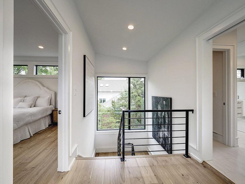 Stairway to third-floor owners suite