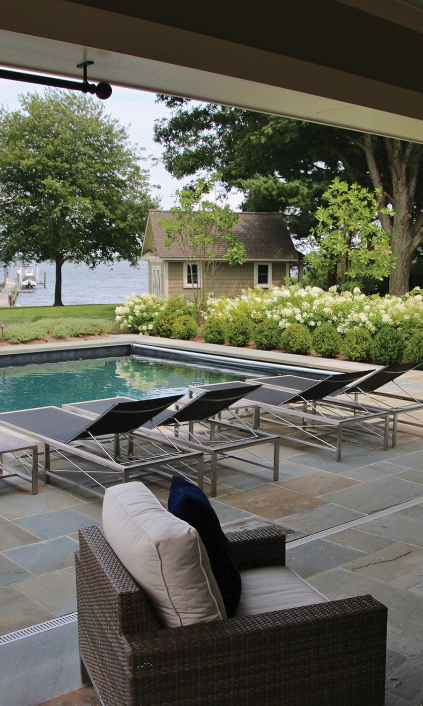 pennsylvania flagstone pool patio