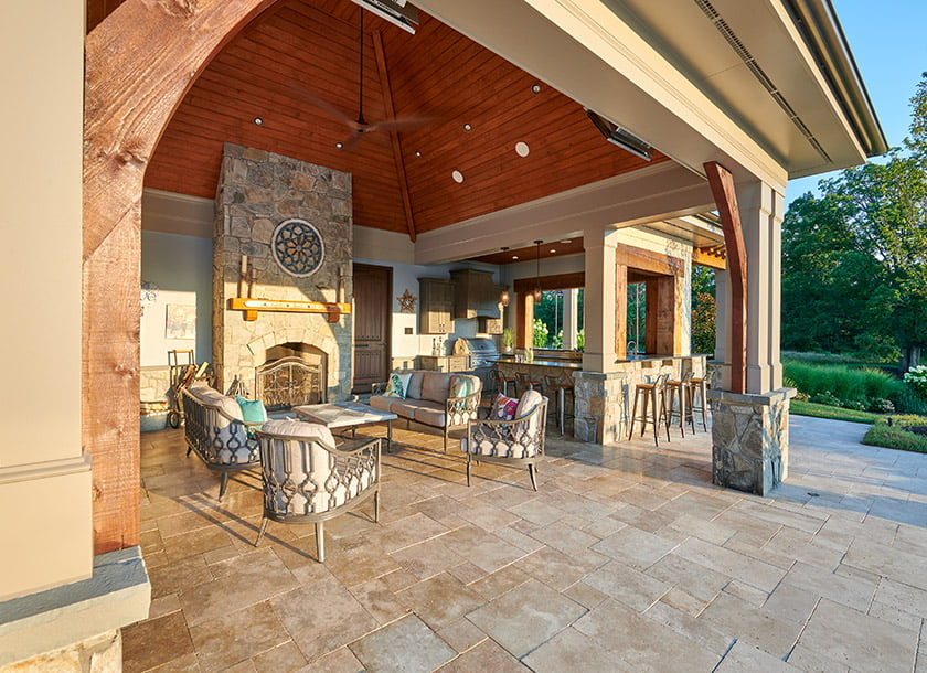 Surrounds Landscape Architecture and Construction pool house