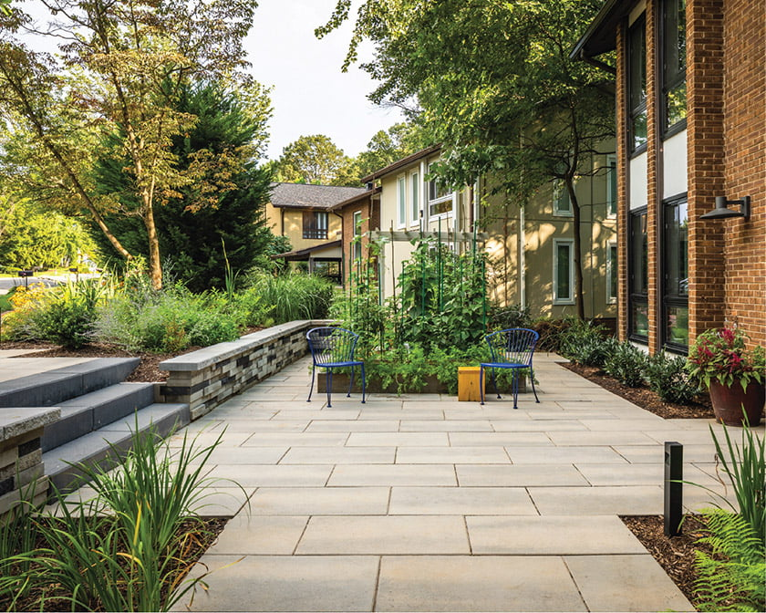Ed Ball Landscape Architecture- vegetable garden