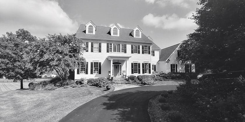 Before home exterior