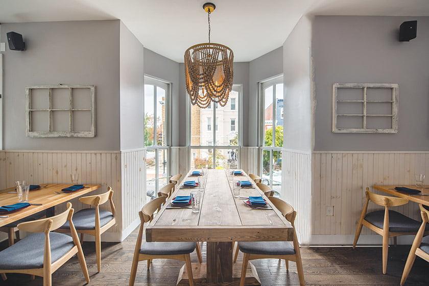 Dining room at Nina May