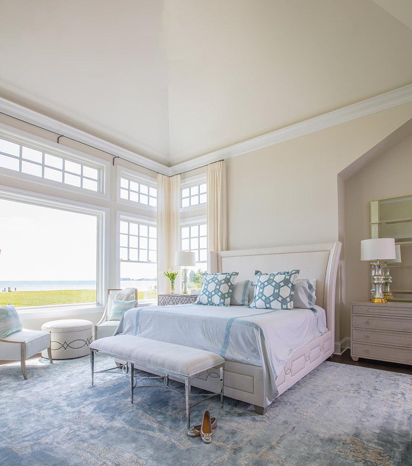 艾琳·佩吉·皮茨卧室的定制地毯