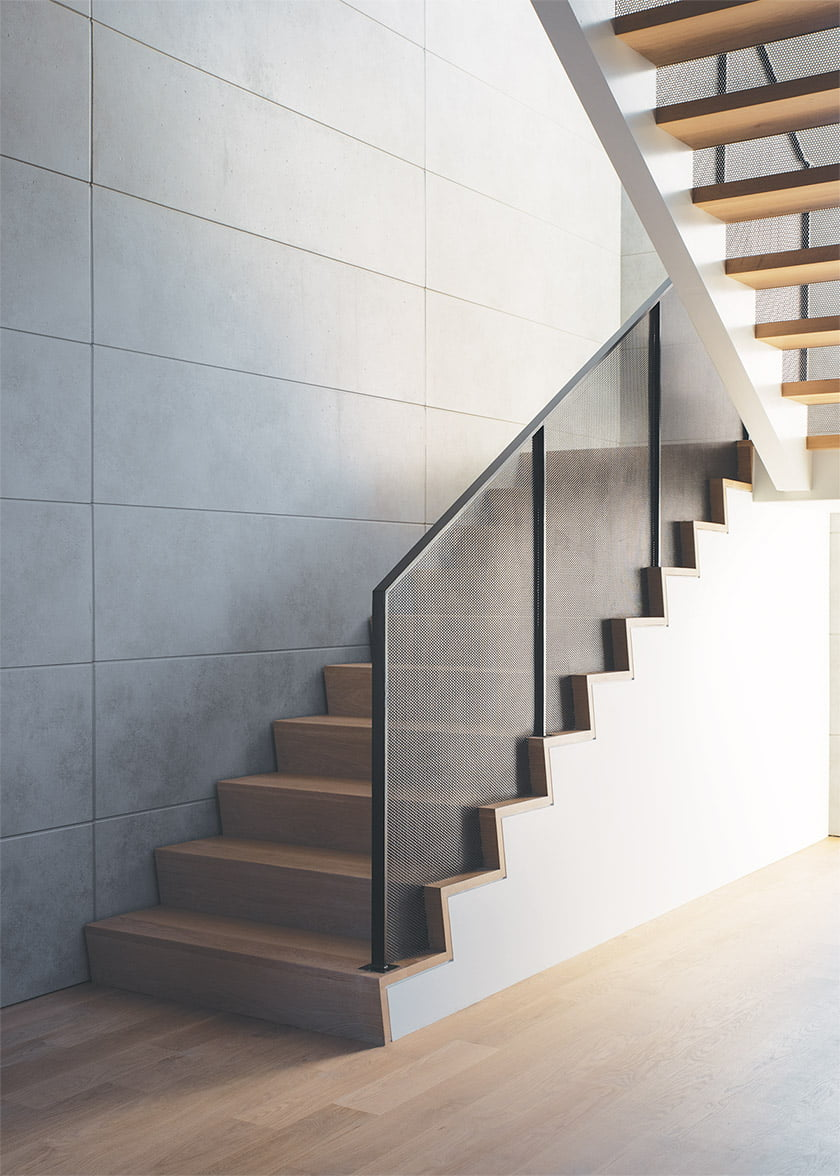 stair-with-perforated-metal-railings