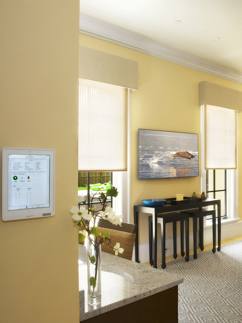Motorized window treatments, an automated lighting system
