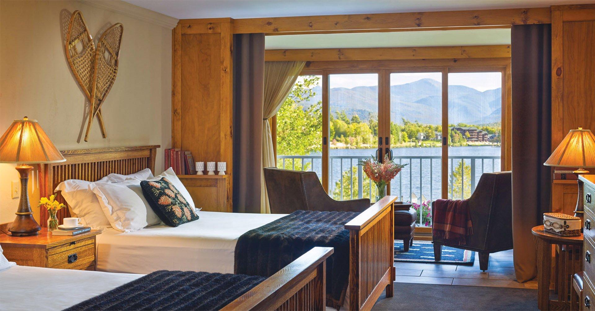 Mirror Lake Inn lookout room