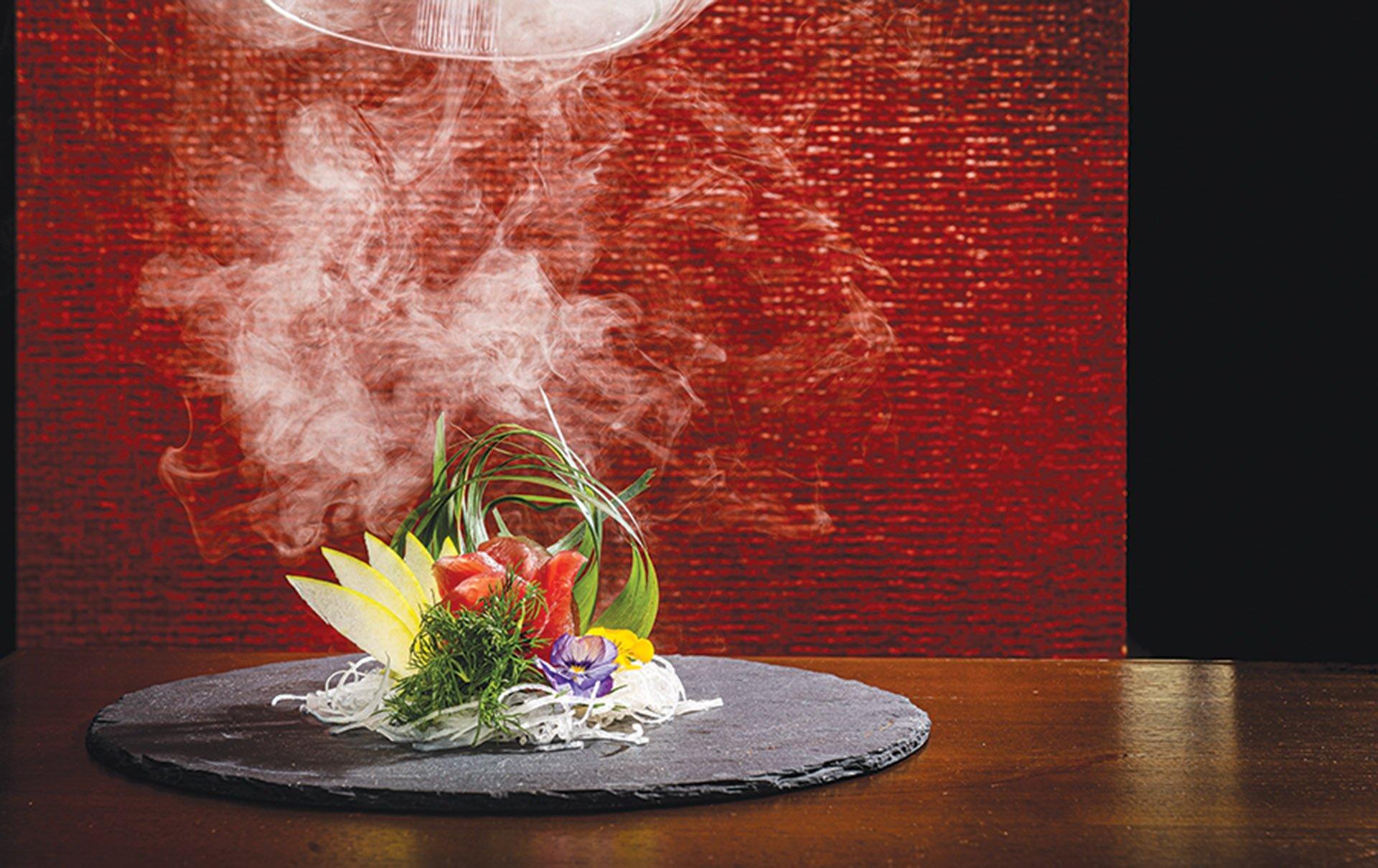 Nara-Ya smoked zuke tuna