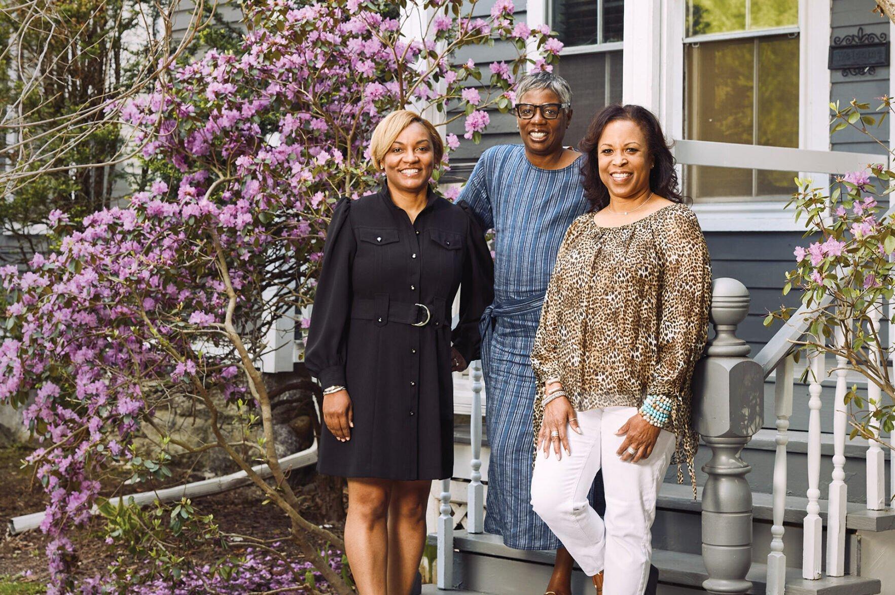 Shawna Underwood, Iantha Carley and Dennese Guadeloupe Rojas