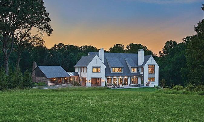 BarnesVanze Architects Arts & Crafts style home