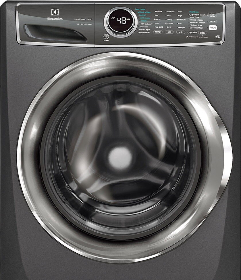 Electrolux's Front-Load Perfect Steam Washer
