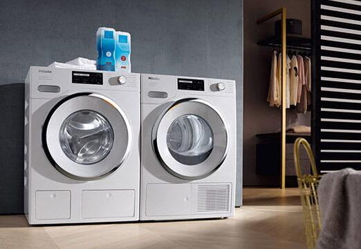 Miele's W1 Washing Machine and T1 Dryer