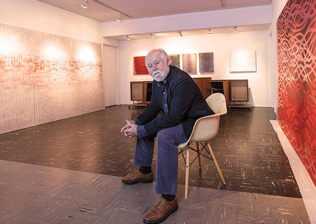 Robin Rose in studio gallery